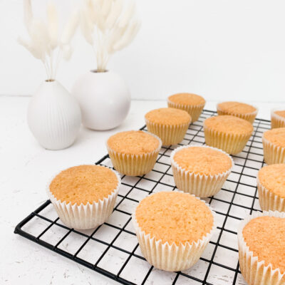 VANILLE MUFFINS / CUPCAKES